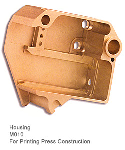 Brass Alloy Housing Unit