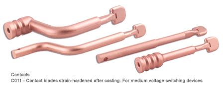 Pure electrolytic copper casting